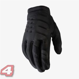 100% Brisker Handschoen Black/Grey