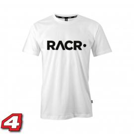 Racr tshirt wit