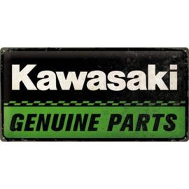 Emaille bord Kawasaki Genuine Parts
