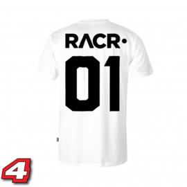 Racr 01 tshirt wit