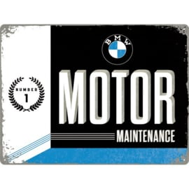 Emaille bord BMW Motor Maintenance