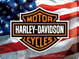 Tin Signs Harley Davidson