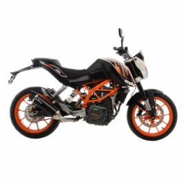 KTM Duke 390 (16-16) Leovince One EVO Carbon