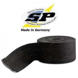 SP uitlaat wrap 50MM x 1MM x 10Meter