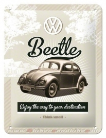 Tin Signs VW Beetle
