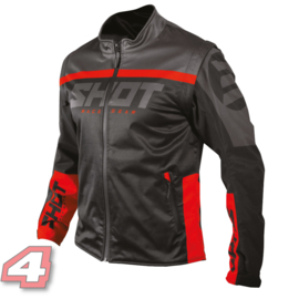 Shot Softshell Lite Rouge
