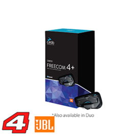 Cardo Scala Rider Freecom 4+ PLUS JBL Single