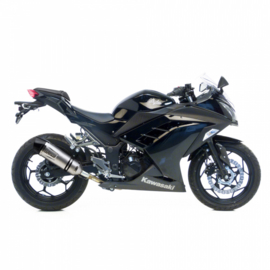 Kawasaki Ninja 300 R/ABS (13-16) Leovince LV Evo One RVS