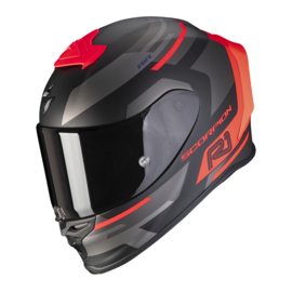 Scorpion Exo-R1 Orbis mat zwart/neon rood