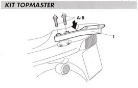 Yamaha Fazer 600 98-00 Y0F68T rek