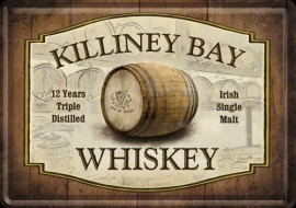 Tin Signs Killiney Bay Whiskey