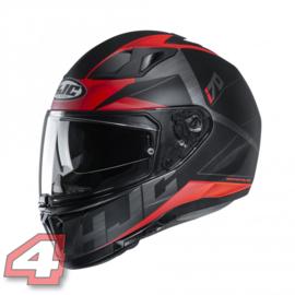 HJC Eluma zwart/rood