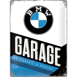 Emaille bord BMW Garage