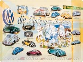 Tin Signs Volkswagen