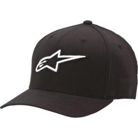 Alpinestars Corporate cap zwart flex-fit