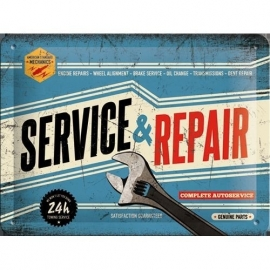 Tin Signs Service and Repair
