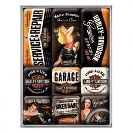 Magneten - Harley Davidson Babes