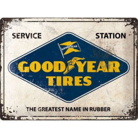 Emaille bord Goodyear Tires