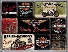 Magneten - Harley Davidson