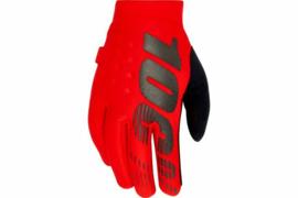 100% Brisker Handschoen Red/Black