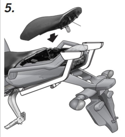 Yamaha FZ1 Fazer 1000 06-15 Y0FZ16ST rek