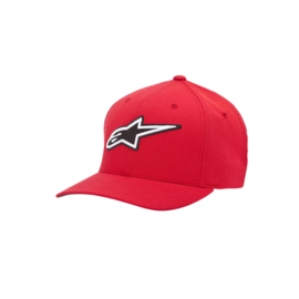 Alpinestars Corporate cap rood flex-fit