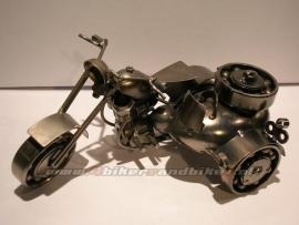 Metal Model Zijspan