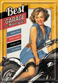 Tin Signs Best Garage