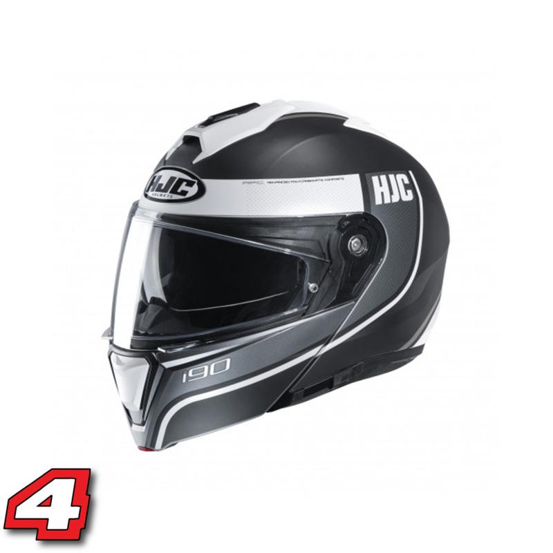 HJC i90 Davan zwart wit