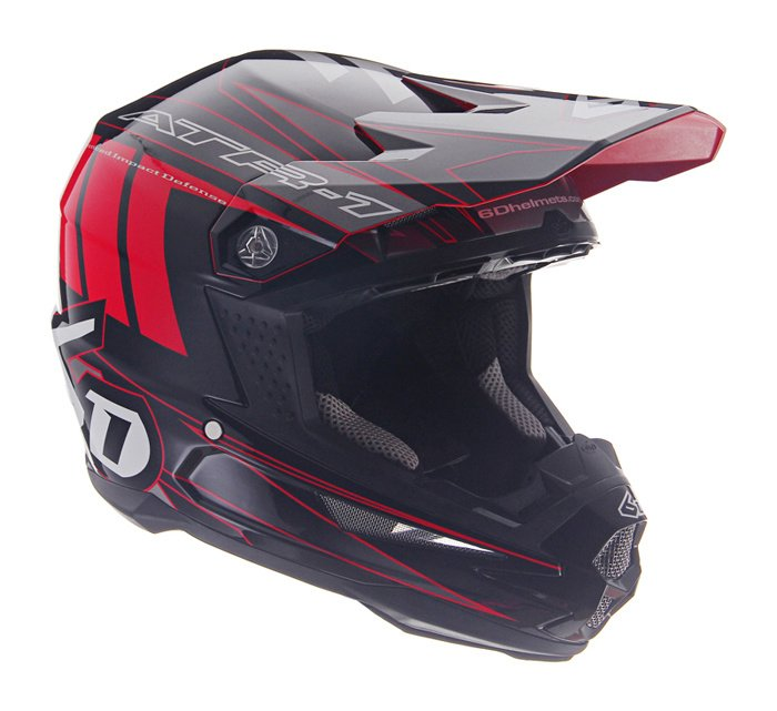 6D ATR1 Point motorcross helm