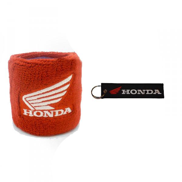 Honda remreservoir sok + Honda sleutelhanger