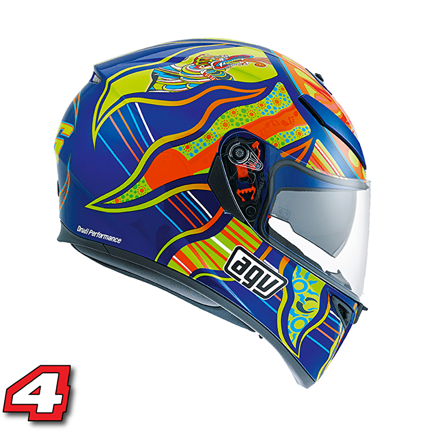 AGV K3 Rossi five continents