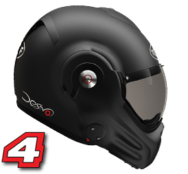 Roof helm desmo