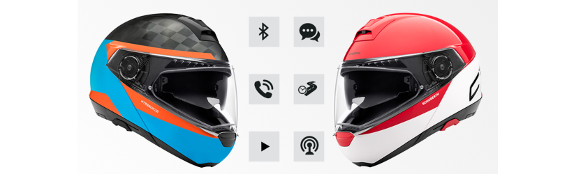 schuberth c4 communicatie sc1 sc2