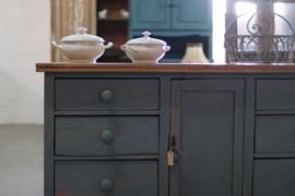 Franse brocante kast vintage oud
