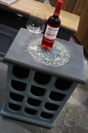 Wijnkastje brocante vintage