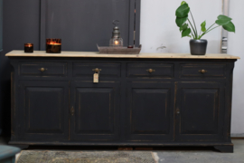 Vintage Dressoir industrieel black