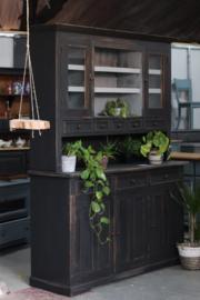 Buffetkast vintage industrieel black