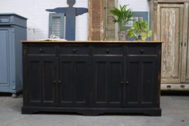 Dressoir vintage black industrieel