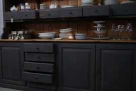 Industriële buffetkast vintage black