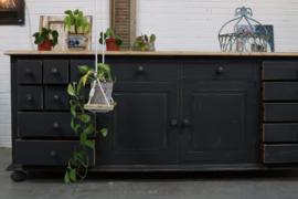 Dressoir kast vintage botanisch