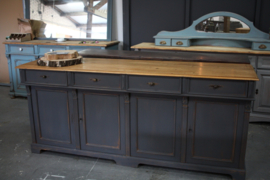 Dressoir / toonbank robuust klassiek industrieel
