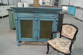 Kastje Antiek Dark turquoise