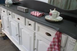 Prachtige landelijke keukenkast / dressoir