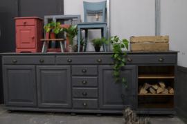 Grote dressoir kast vintage