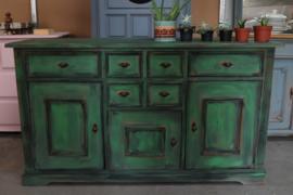 Dressoir botanisch green