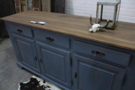 Dressoir / keukenkast Vintage blue