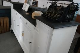 Landelijke toonbank / keukenkast