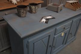 Dressoirkast vintage Blue Antje