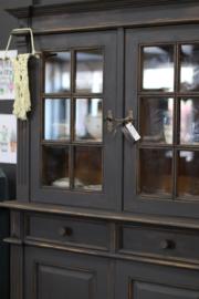 Buffetkast / vitrinekast vintage industrieel